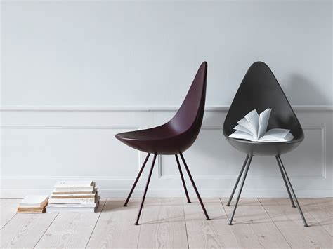 Drop Fritz Hansen by Buy The Fritz Hansen Drop Chair Plastic At Nest Co Uk
