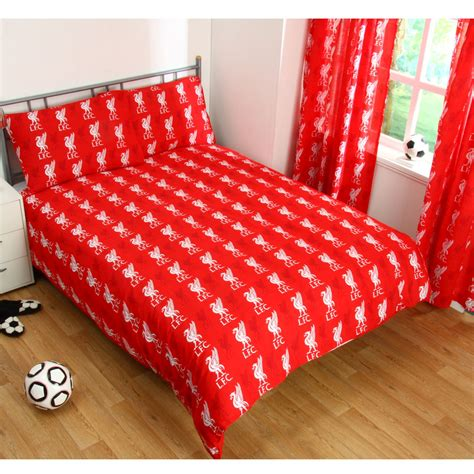 liverpool bedroom stuff liverpool fc single and double duvet cover sets bedroom bedding ebay