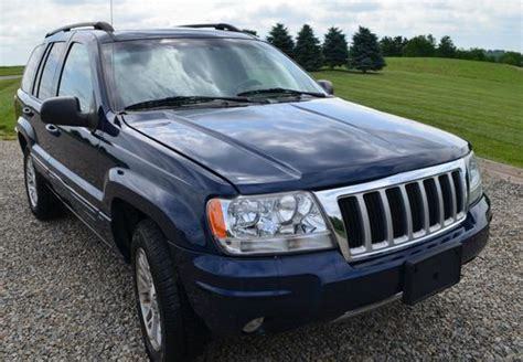 Jeep Grand Adventure Package Find Used 2004 Jeep Grand Limited Sport Utility