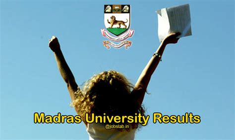 Madras Mba Results December 2016 by Madras Results 2017 Unom Ac In For Ug Pg