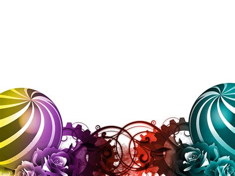 colorful background designs for powerpoint colorful balls design ppt template colorful balls design