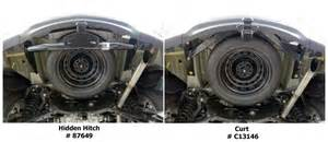 Acura Mdx Spare Tire Will Installing Hitch 87649 Interfere With Spare