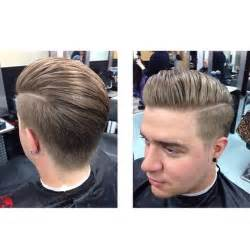 Galerry pompadour hairstyle with long hair