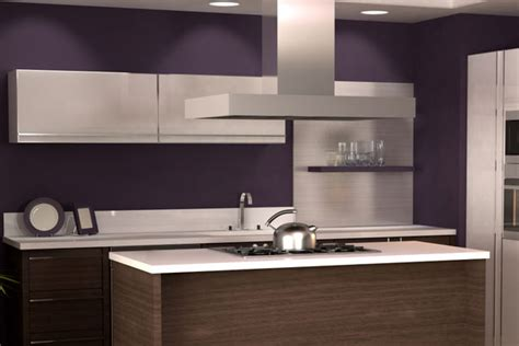 painting purple and brown painting colors for kitchen walls