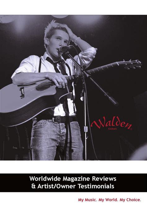 walden book review 2012 walden review book by walden guitars issuu