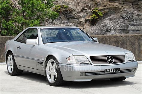Mercedes Sl600 by Sold Mercedes Sl600 Convertible Auctions Lot 18