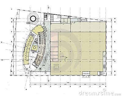 skyscraper floor plan building ground floor plan stock photo image 14037960