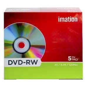 format dvd rw discs imation 4x dvd rw discs 4 7gb 5 pack officeworks