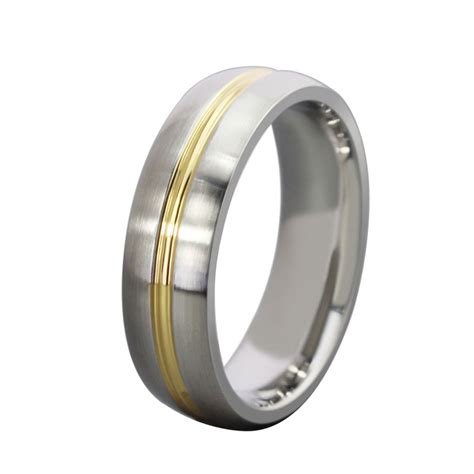 Gold Ring Titanium Steel Fashion Simple Black fashion rings for www imgkid the image kid has it