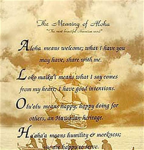 Prayer   The Meaning of Aloha :: InfoImagination :: Web 2