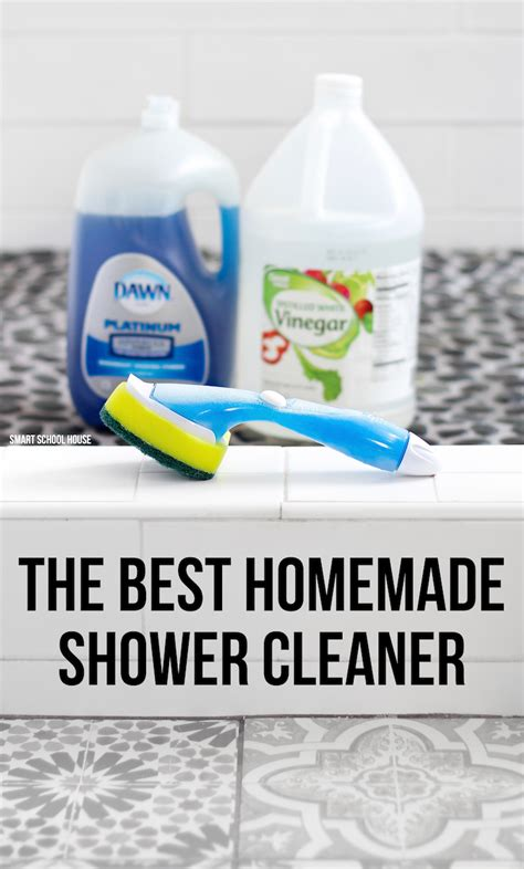 the best bathroom cleaner the best homemade shower cleaner smart school house