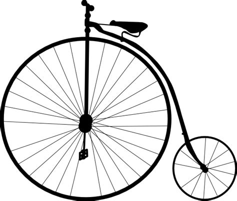 Bicycle Wheel Outline by Bike Clip At Clker Vector Clip Royalty Free Domain