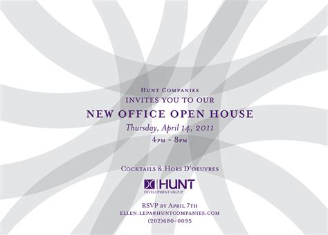 business open house invitation template business open house invitation printable template