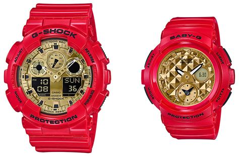 Casio Ga 100 Bga 100 g shock ga 100vla 4a baby g bga 195vla 4a gold g central g shock