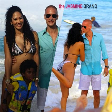 Kimora Simmons New Boyfriend Dijimon Hounsou Snarky Gossip by Snitching Simmons Announces Kimora