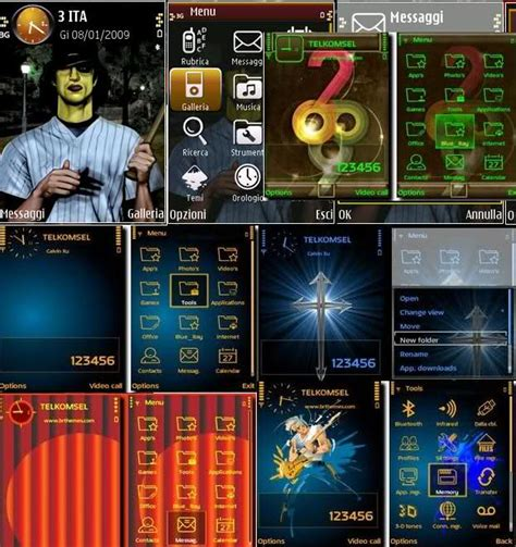 themes editor s60v3 games and application 11 new themes for s60v3