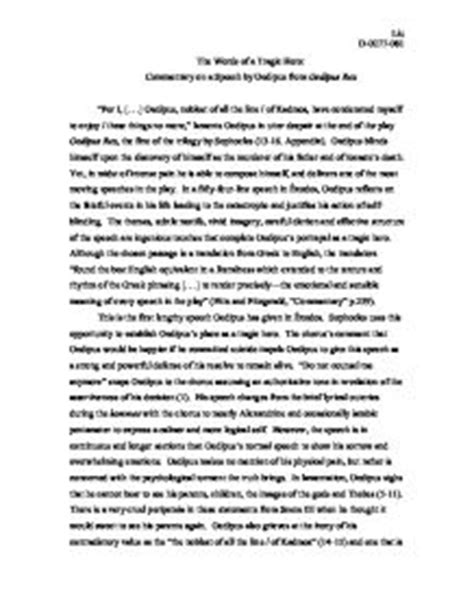 Oedipus Fate Essay by Oedipus Essays About Fate Bibliographyannotated X Fc2