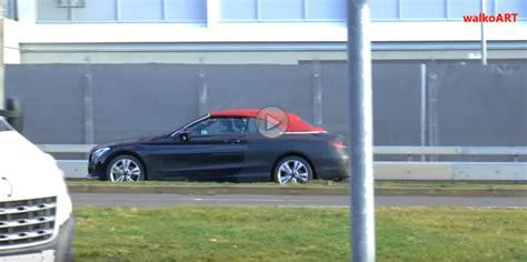 Auto Bild 02 2016 by Mercedes Clasa C Cabrio Surprins 238 N Teste