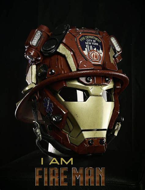 Kaos Anime Heroes Captain America Special T Shirt Keg Cap 01 消防員變iron 紐約消防區與marvel合作出面罩 gameover hk