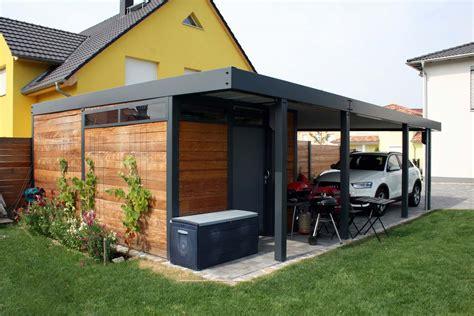 carport bausatz metall design metall carport aus holz stahl glas mit ger 228 teraum