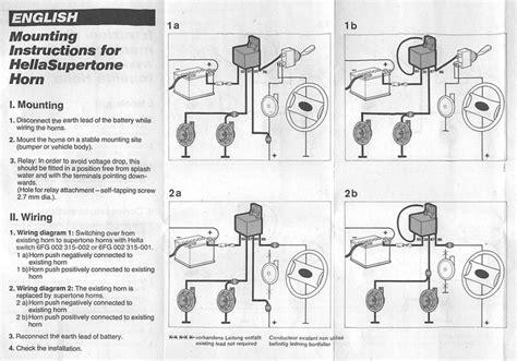 hornblasters wiring diagram glowshift wiring diagram
