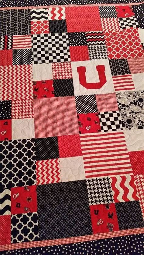 The Quilted Utah by Of Utah Quilt With Minky On The Back