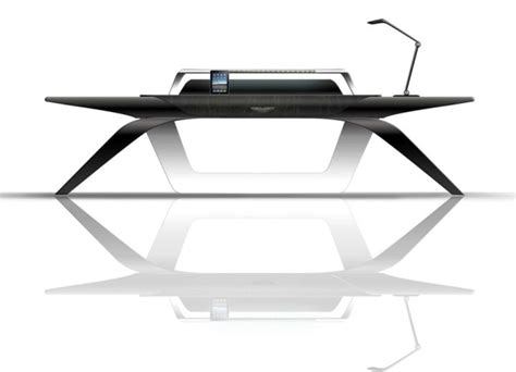 futuristic desks futuristic and sleek office desk