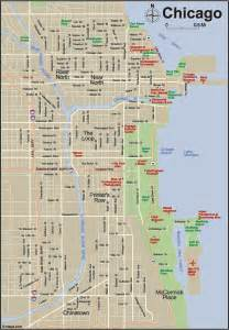 Maps Chicago by Printable Map Of Downtown Chicago Video Search Engine At