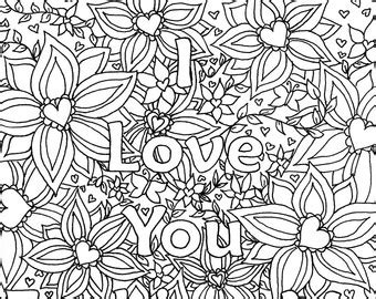 i love you so much coloring pages i love you coloring pages for adults