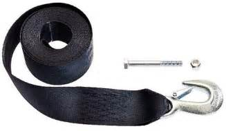 boat winch strap with two hooks dutton lainson 6249 20 ft winch strap with hook 4000 lb