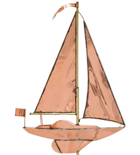 Roof Weathervane 49 Inch Roof Weathervane Sailboat In Weathervanes
