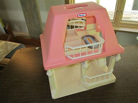 little tikes big doll house little tikes doll house dollhouse grandma grandpa grandparent cottage pink roof
