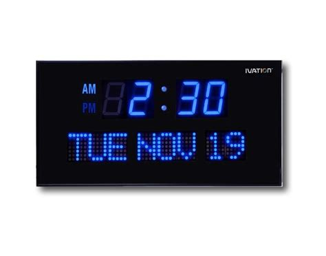 cool digital clocks 50 cool and unique wall clocks you can buy right now