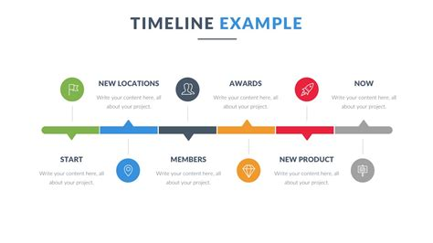 timeline template for powerpoint 3d timeline powerpoint template
