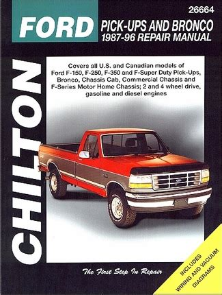 free car manuals to download 1987 ford bronco interior lighting ford f 150 f 250 f 350 super duty bronco service manual 1987 1996