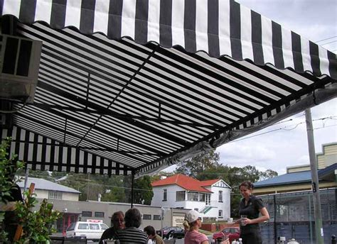 the awning place fixed cafe awning the blinds place