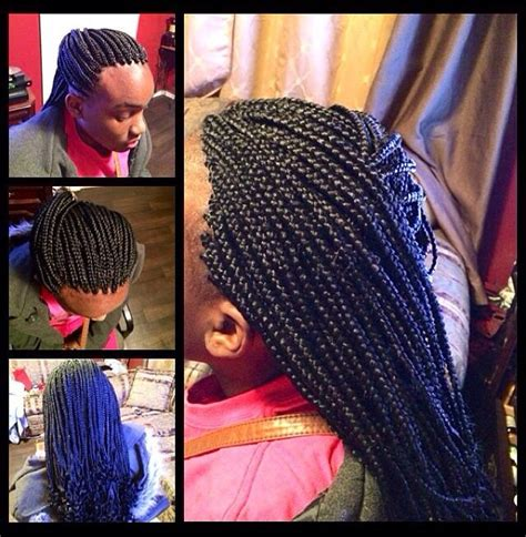 ends of my bushy box braids small w pinched edges box braids w curly ends small