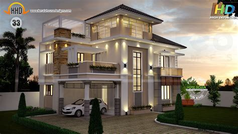 new home design trends 2015 kerala new house plans for june 2015 youtube