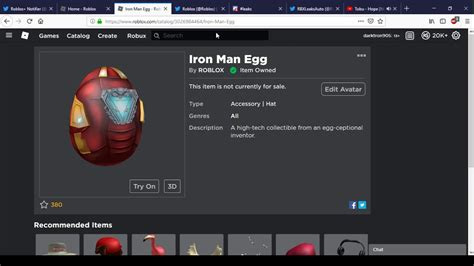 iron man egg roblox egg hunt event