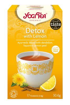 White Ginseng Detox Tea by Our Teas Yogi Tea 174