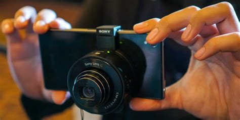 Lensa Sony Android menjajal quot modul lensa android iphone quot besutan sony