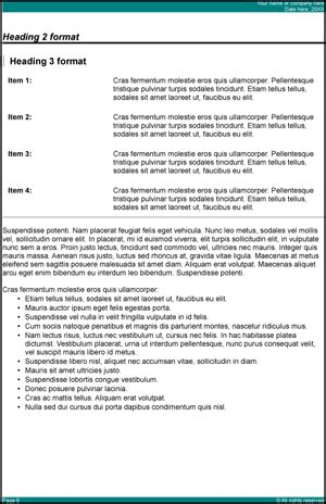 office report template report template openoffice writer guide 2 office