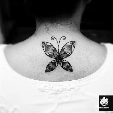 butterfly tattoo nape lower nape tattoo butterfly best tattoo ideas gallery