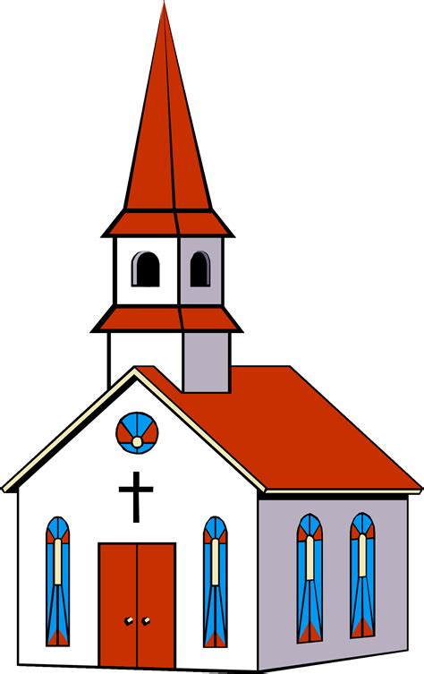 Clipart Of Church free church clip pictures clipartix