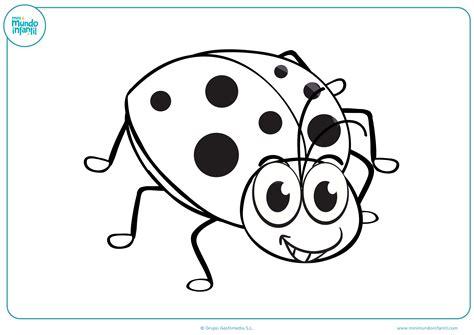 imagenes animadas de niños dibujos de insectos para colorear mundo primaria