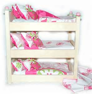 American Made Bunk Beds Doll Bunk Bed Make A Wish American Made By Girldollbeds