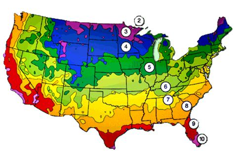 planting zone in the united states