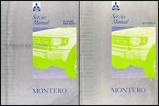 service manual montero best repair manual download 1992 1993 mitsubishi montero repair shop 1992 1993 mitsubishi montero repair shop manual set original