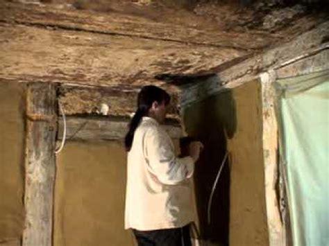 Innenputz Selber Machen by Lehmverputzen An Der Wohnzimmerwand