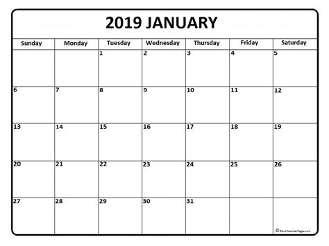 Space Planning Tool january 2019 calendar 50 templates of printable calendars